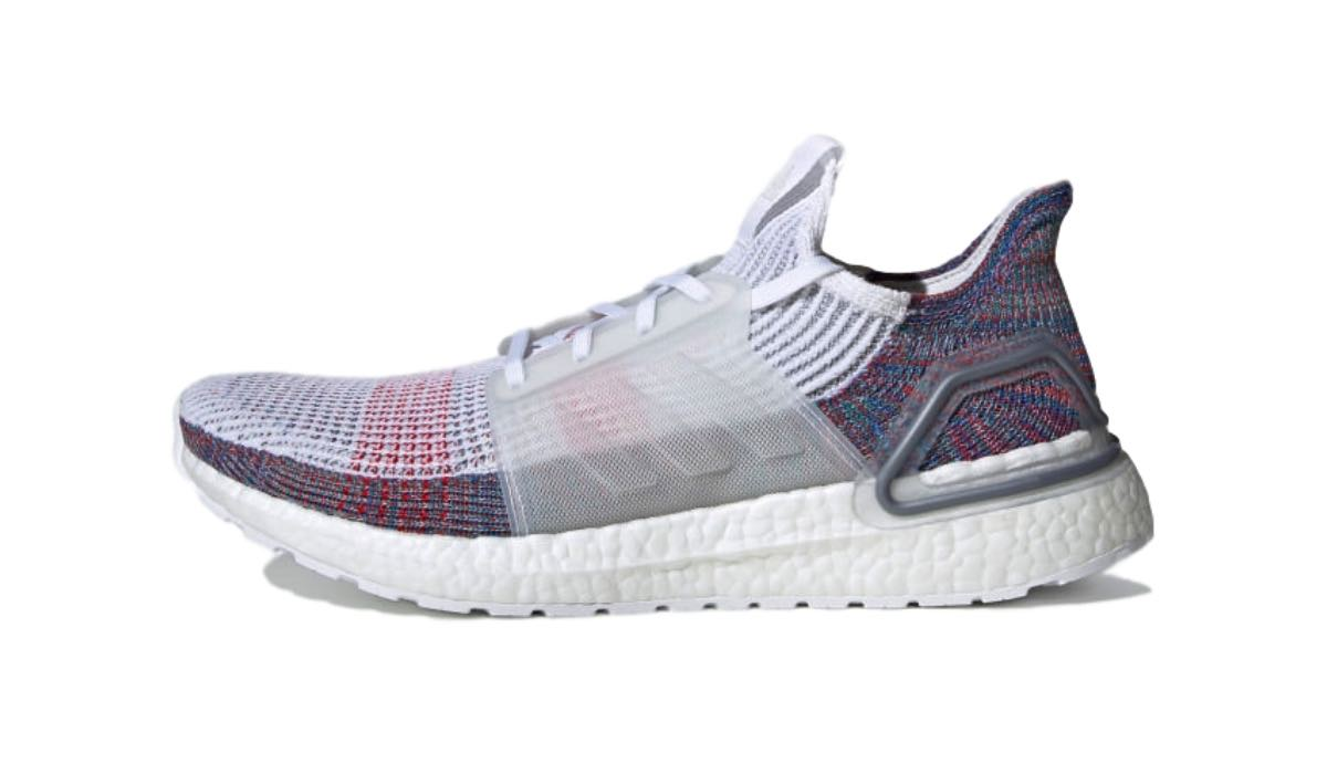"adidas Ultra Boost 19 ""Crystal White/Blue"""
