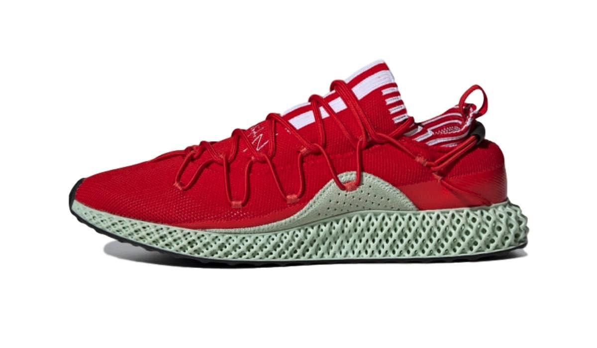 "adidas Y-3 Futurecraft 4D ""Red/Aero Green"""