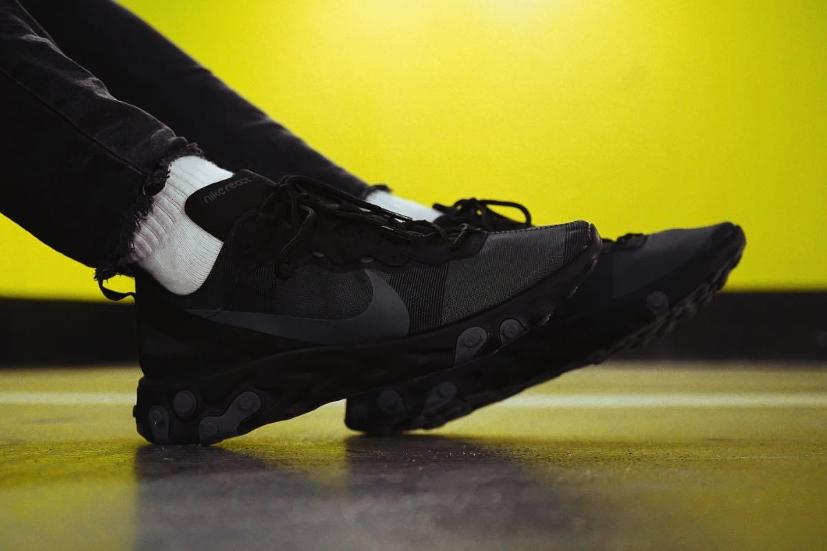 Se nærmere på den skarpe Nike React Element 55