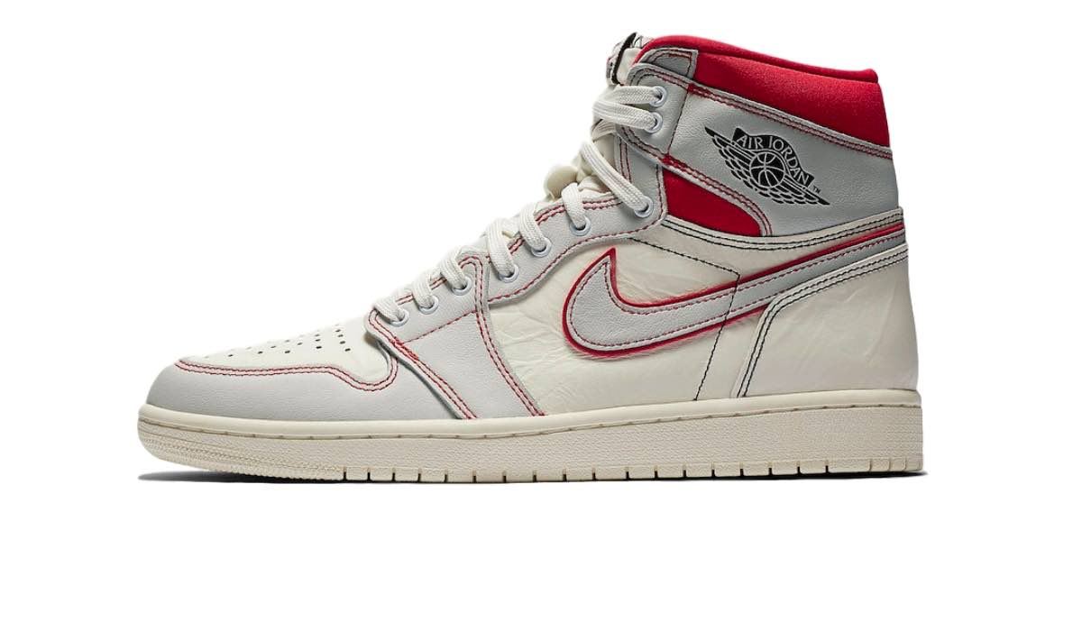 "Nike Air Jordan 1 Retro High OG ""Sail/Phantom Red"""