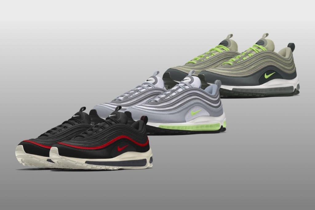 on sale 16aeb e2356 NIKE BY YOU  Design dine egne Air Max 97-sneakers