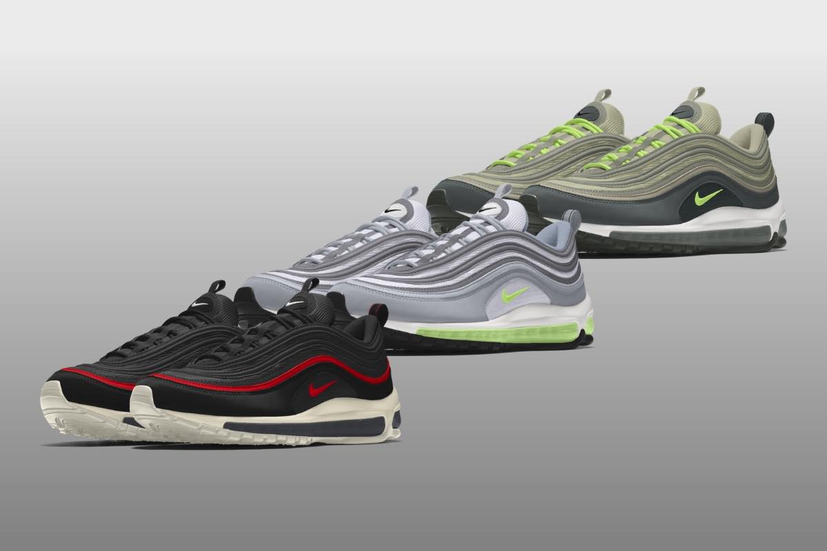 NIKE BY YOU: Design dine egne Air Max 97-sneakers