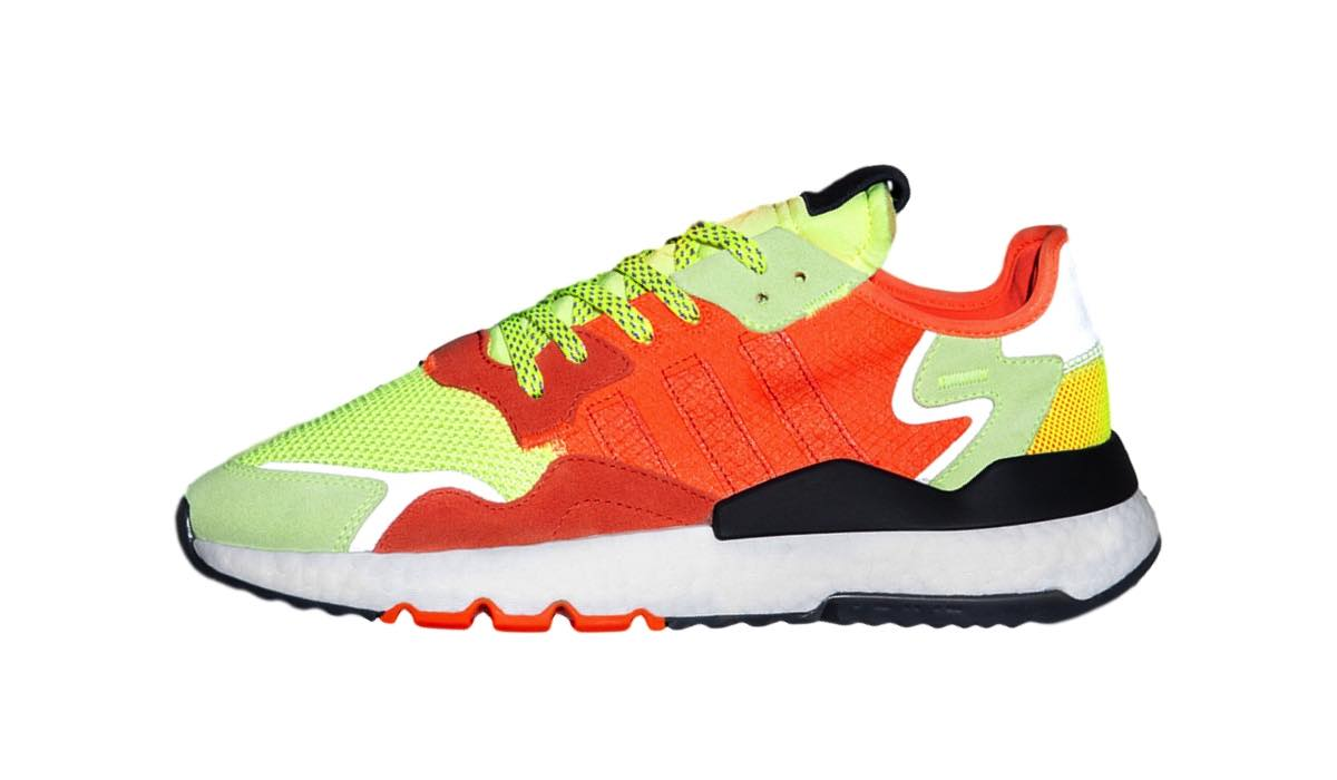 """a6cb01e52d9 Her releaser den nye Size? x adidas Nite Jogger """"Road Safety"""" 