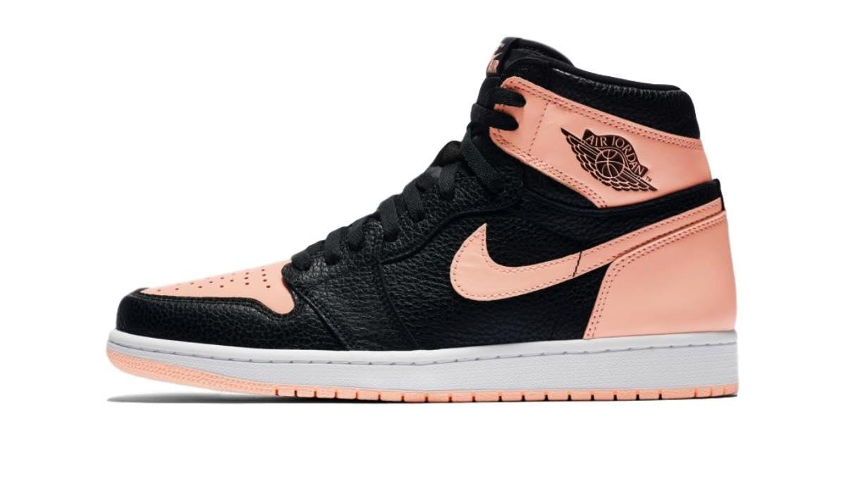 "Nike Air Jordan 1 ""Black/Hyper Pink"""
