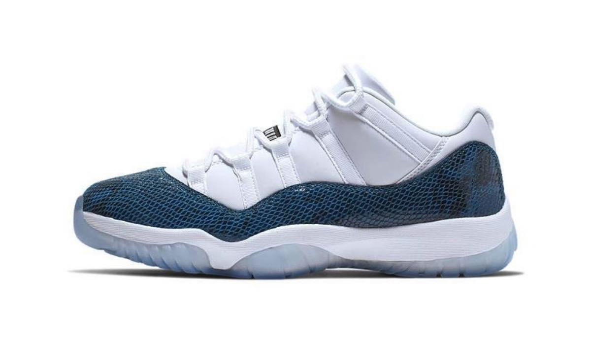 "Nike Air Jordan 11 Low ""Snakeskin"""