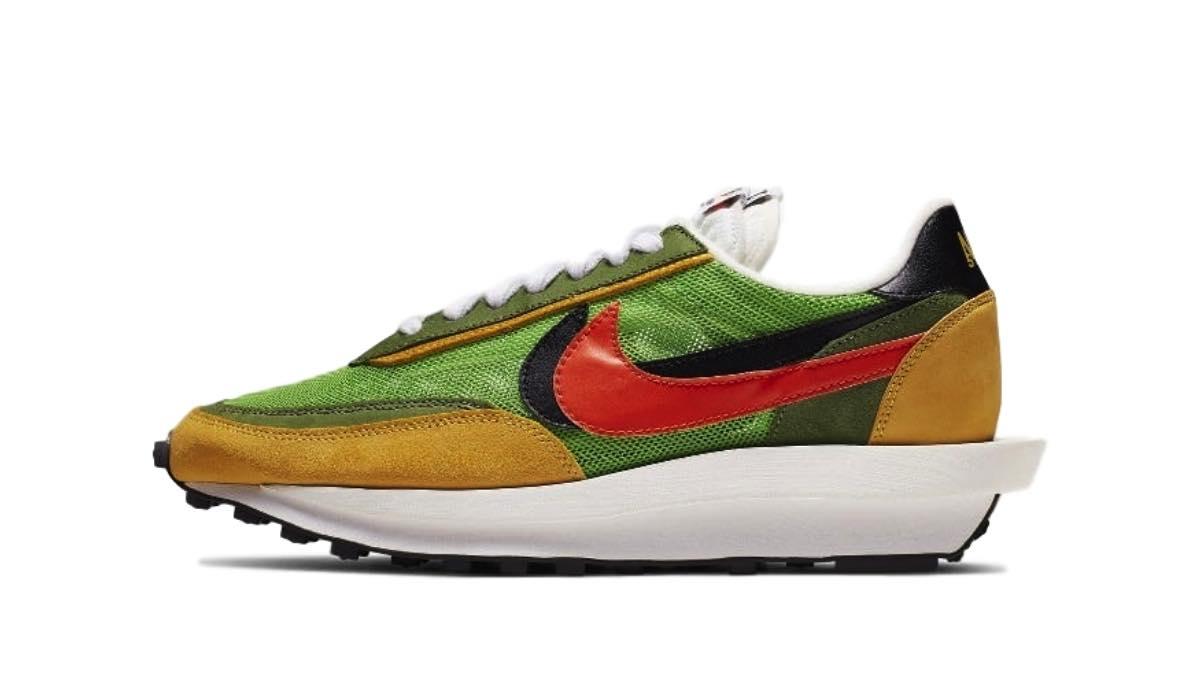 "Sacai x Nike LDV Waffle Daybreak ""Green"""
