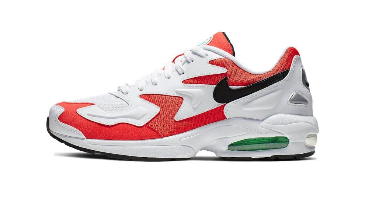 "Nike Air Max 2 Light ""Habanero Red"""
