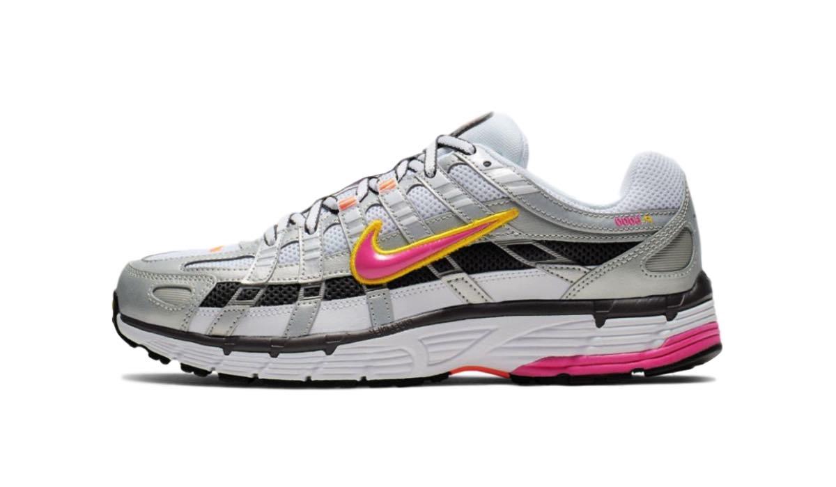 Nike P 6000 Hvid Sølv til Kvinder Cool Sneakers