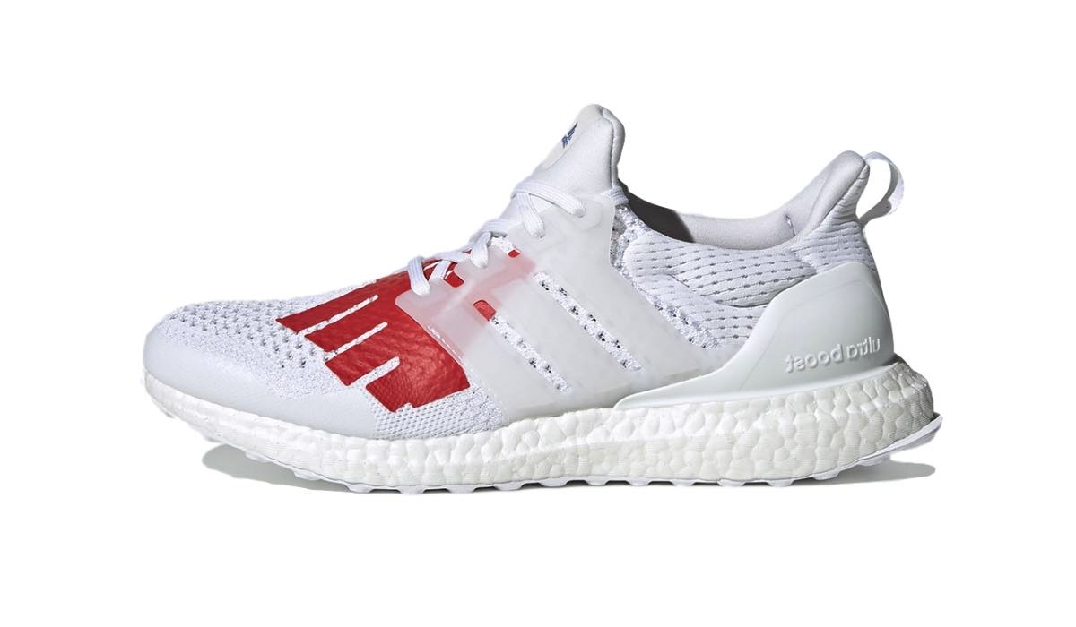 "Undefeated x adidas Ultra Boost 1.0 ""White/Red"""