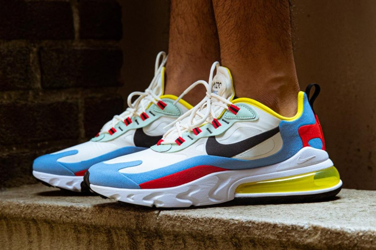 Nike løfter officielt sløret for Air Max 270 React