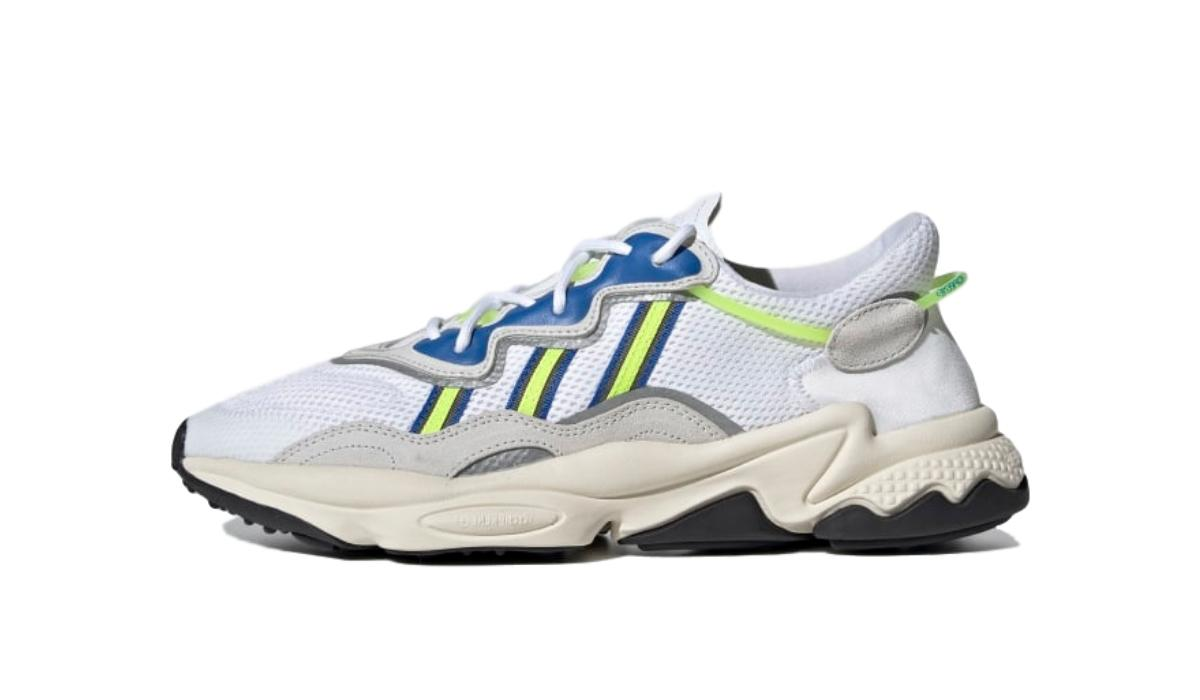 "adidas Ozweego ""White/Solar Yellow"""
