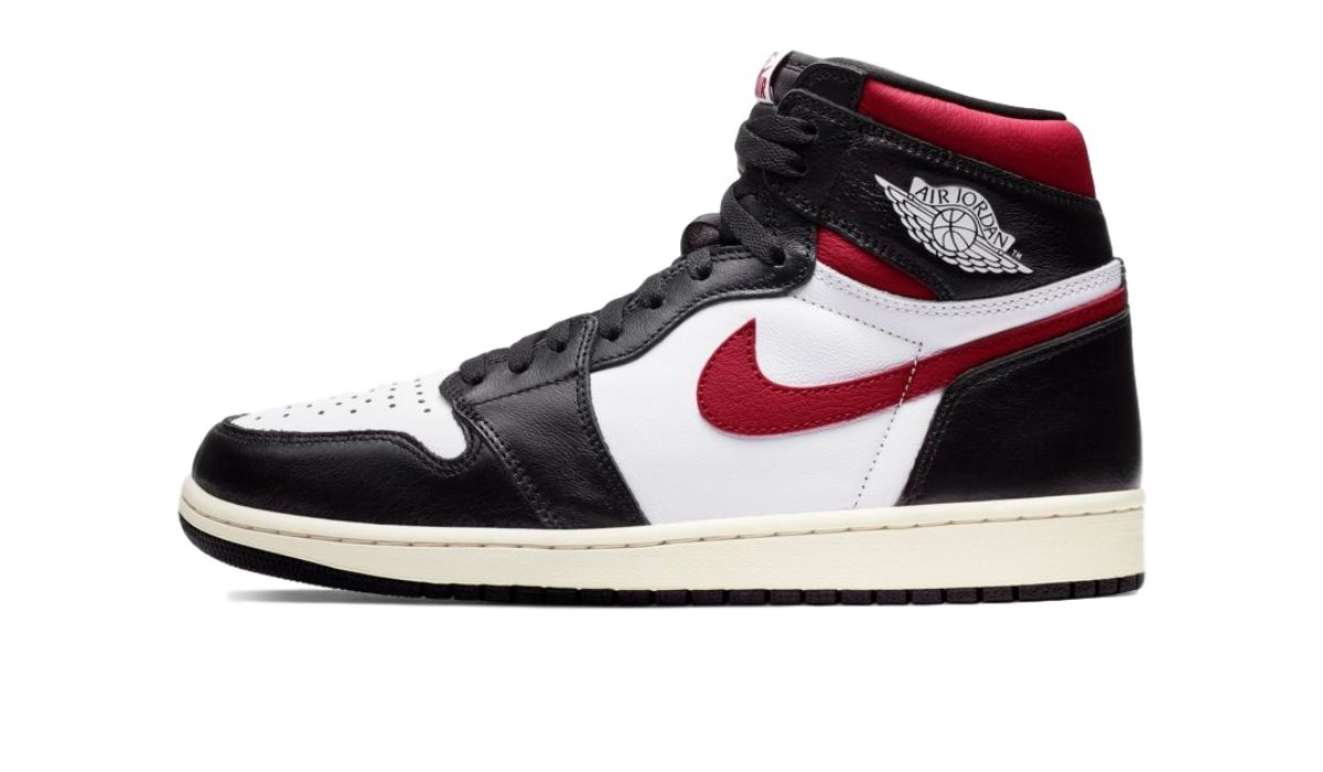 "Nike Air Jordan 1 High ""Black/Gym Red"""