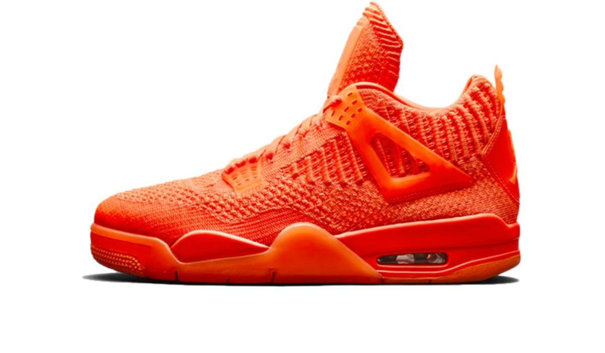"Nike Air Jordan 4 Retro Flyknit ""Total Orange"""