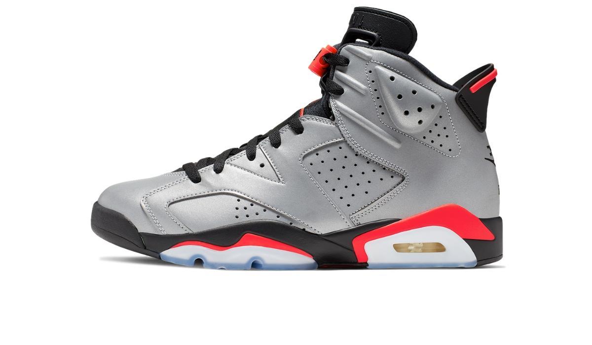 "Nike Air Jordan 6 ""Reflective Silver"""