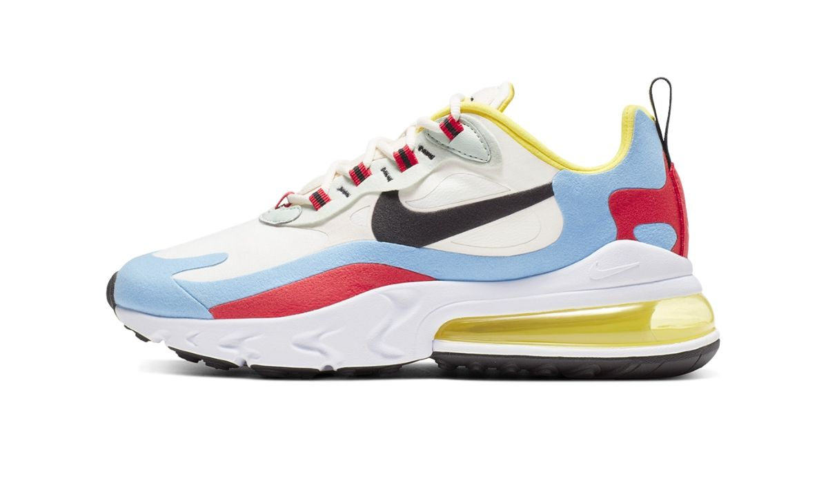 "Nike Air Max 270 React ""Phantom/Light Blue"""