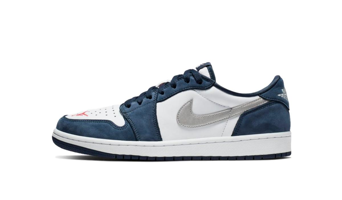 "Nike SB x Nike Air Jordan 1 Low ""Midnight Navy"""