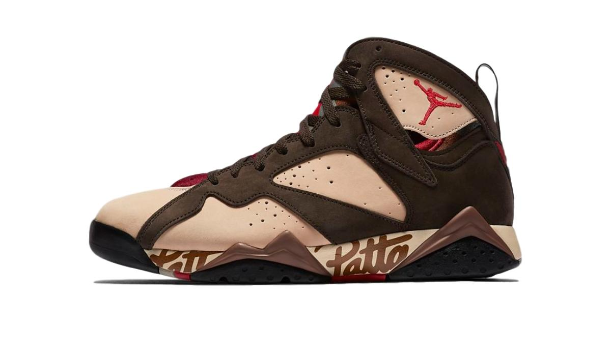 "Patta x Nike Air Jordan 7 OG SP ""Shimmer"""