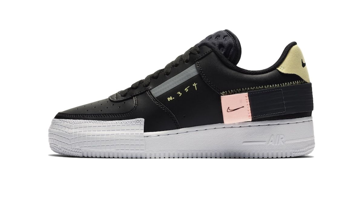 "Nike Air Force 1 Low Type ""Black"""
