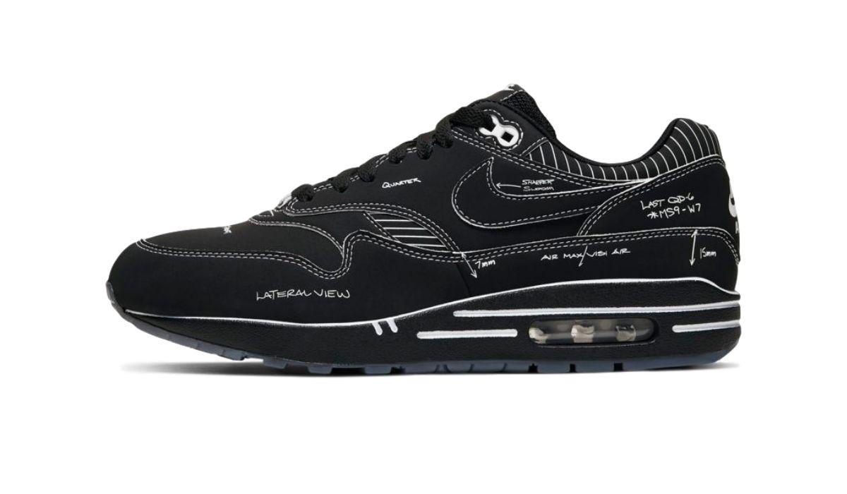 "Nike Air Max 1 Sketch to Shelf ""Black"""