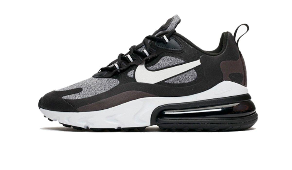 "Nike Air Max 270 React ""Black/Grey"""