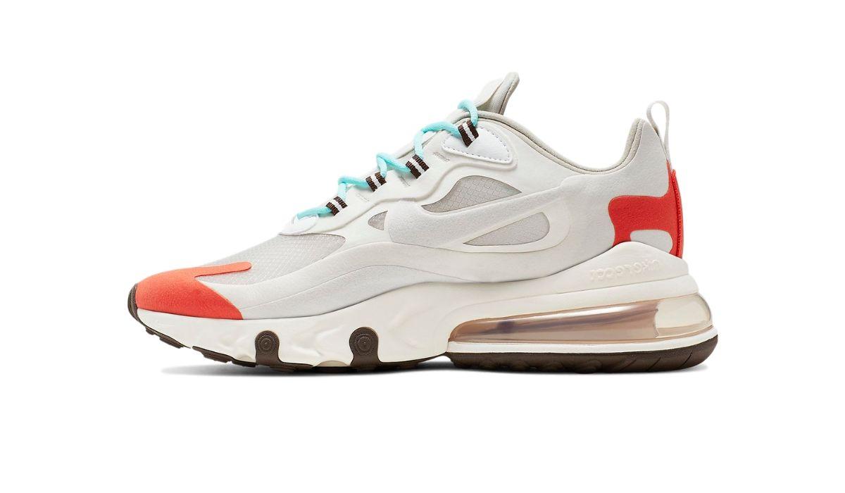 """Nike Air Max 270 React """"Light Beige Chalk"""""""