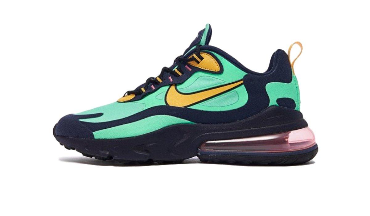 "Nike Air Max 270 React ""Electro Green"""