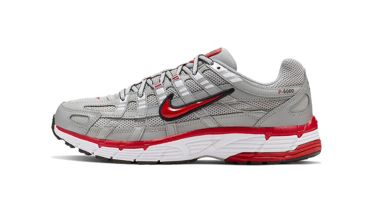 """Nike P-6000 """"Grey/Red"""""""