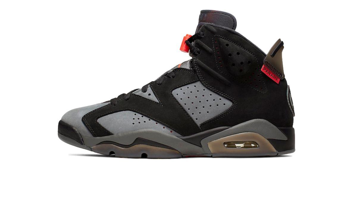 """PSG x Nike Air Jordan 6 """"Iron Grey"""""""