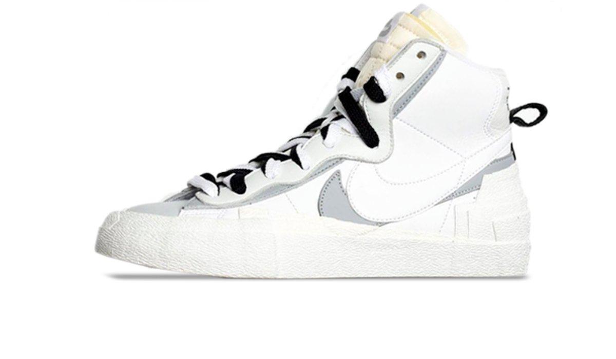 """Sacai x Nike Blazer Mid """"White"""""""