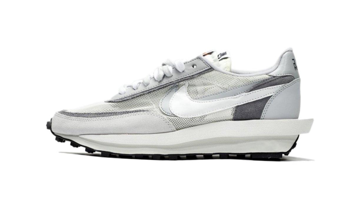 "Sacai x Nike LDV Waffle ""Wolf Grey"""