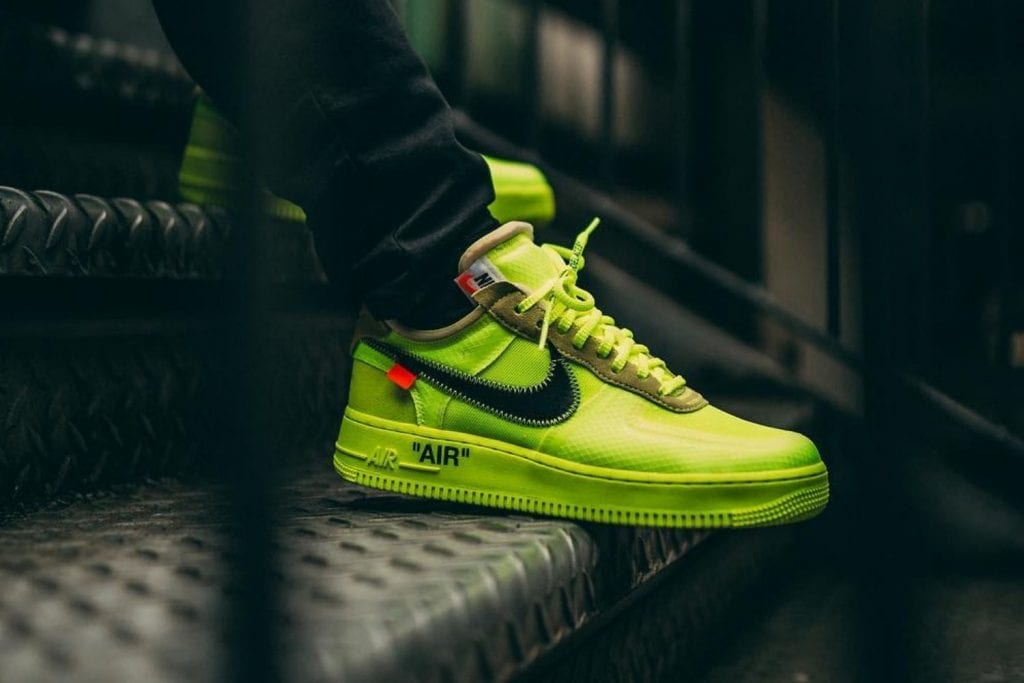 air force 1 off white sneakers