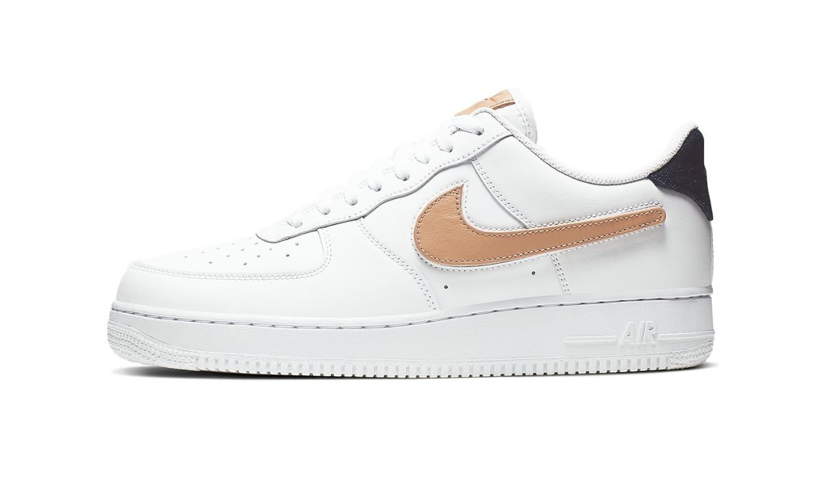 "Nike Air Force 1 Low Removable Swoosh ""White"""