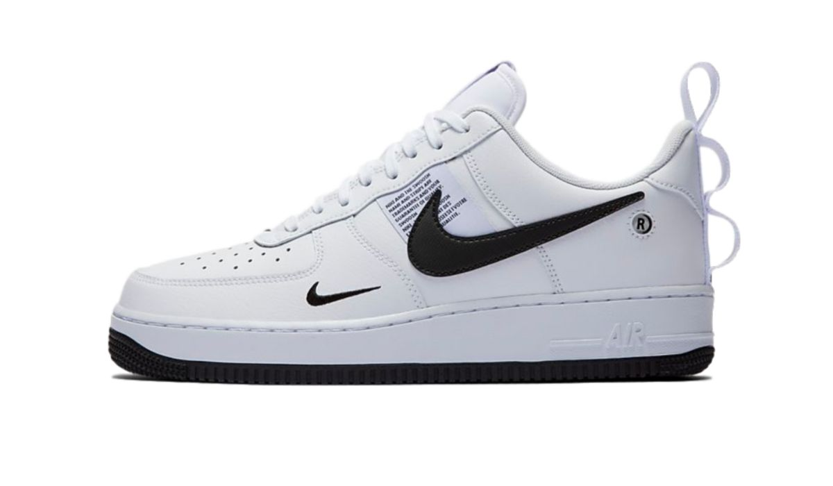 "Nike Air Force 1 Utility ""White/Black"""