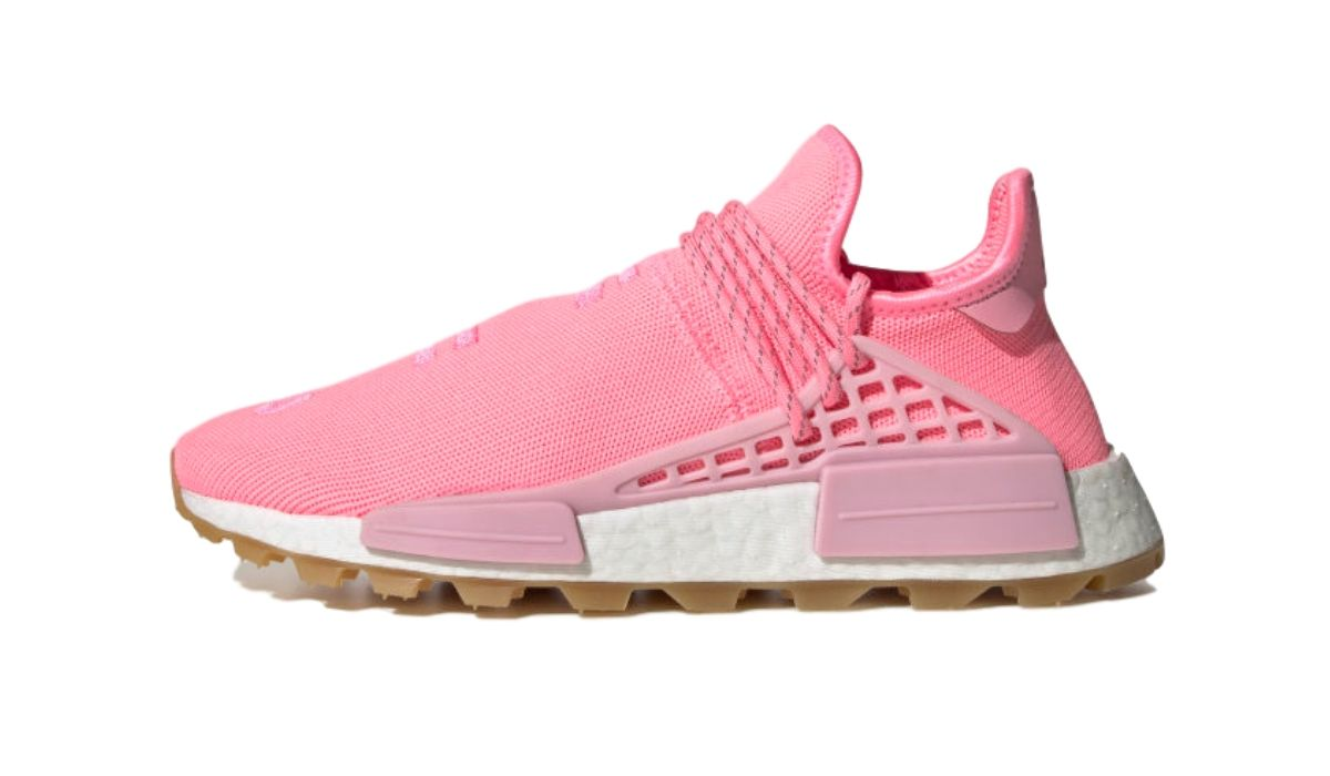 "Pharrell Williams x adidas NMD HU Proud ""Pink"""