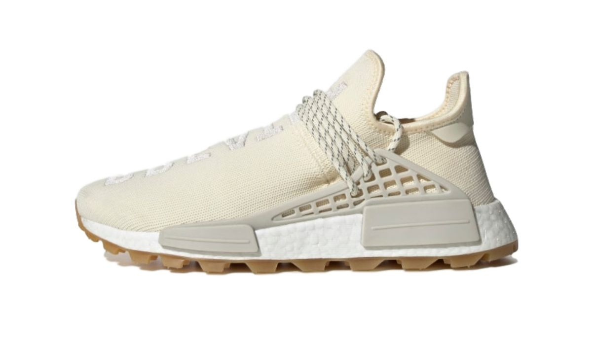 "Pharrell Williams x adidas NMD HU Proud ""Cream White"""