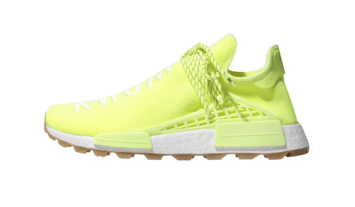 "Pharrell Williams x adidas NMD HU Trail ""Yellow"""