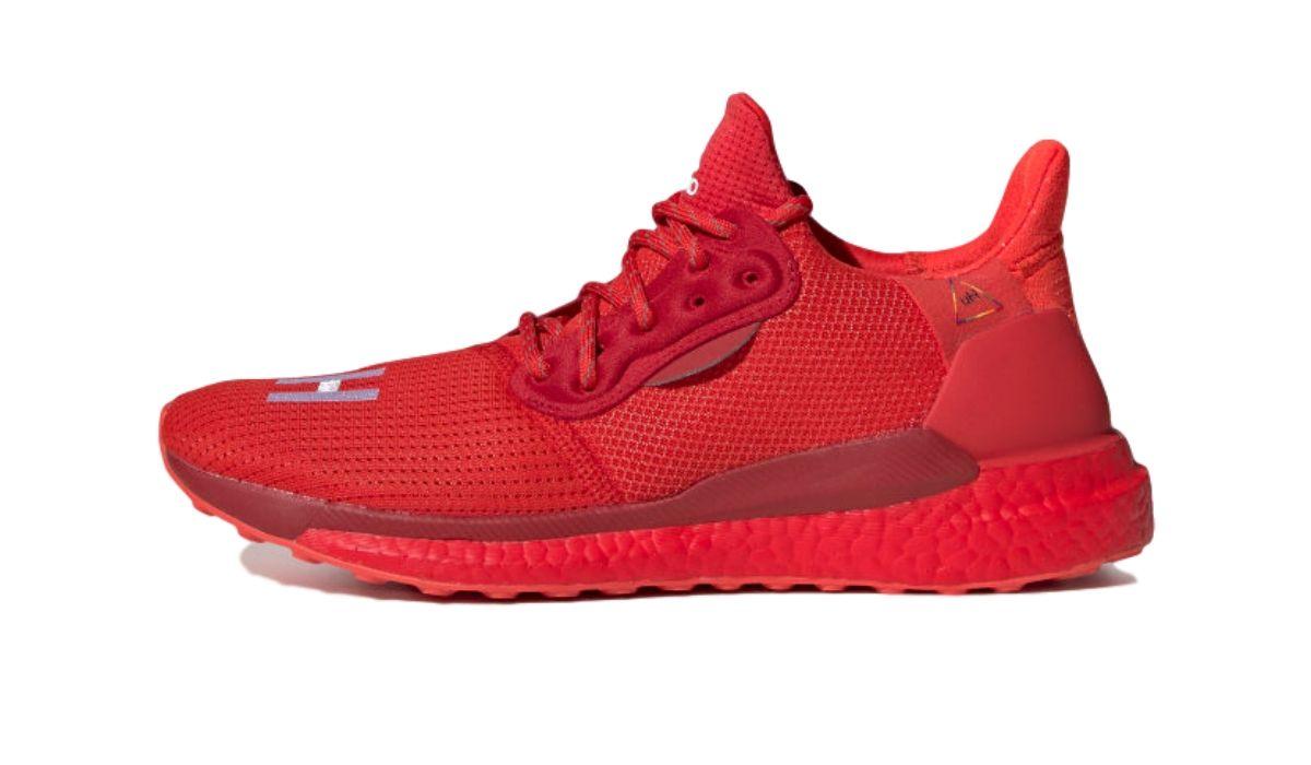 "Pharrell Williams x adidas Solar HU ""Red"""