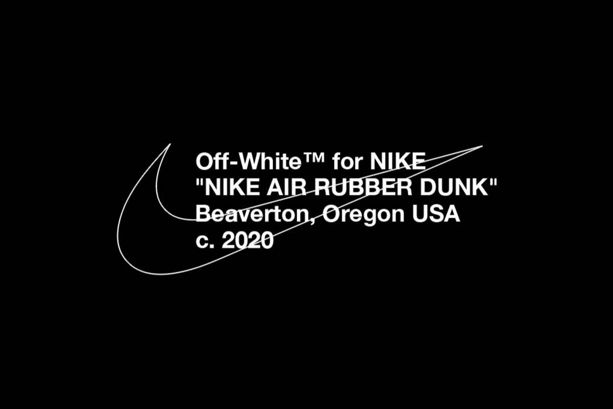 Har Virgil Abloh designet sin egen Nike-sneakermodel?