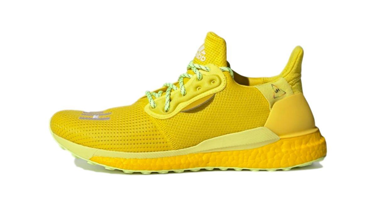 """Pharrell Williams x adidas Solar HU """"Yellow"""""""
