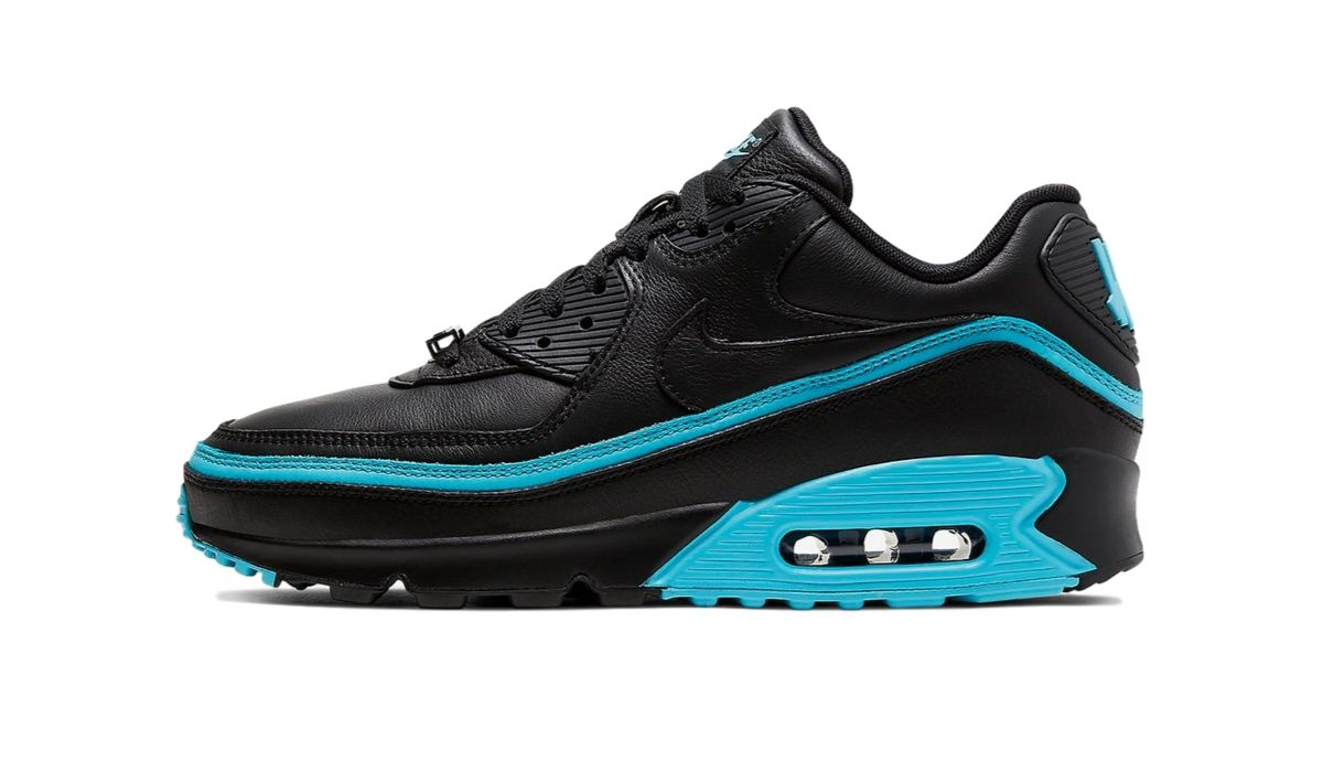 """UNDEFEATED x Nike Air Max 90 """"Black/Blue"""""""