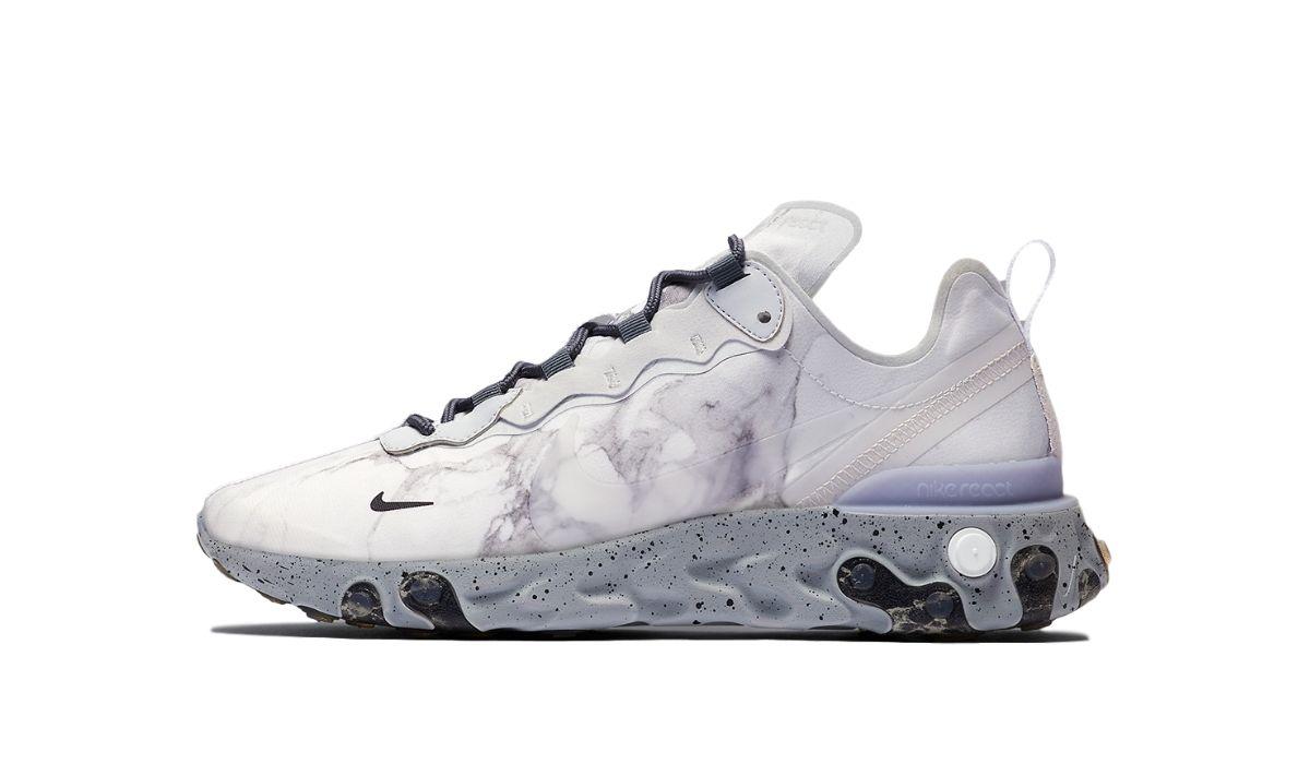 Kendrick Lamar x Nike React Element 55 Pure Platinum