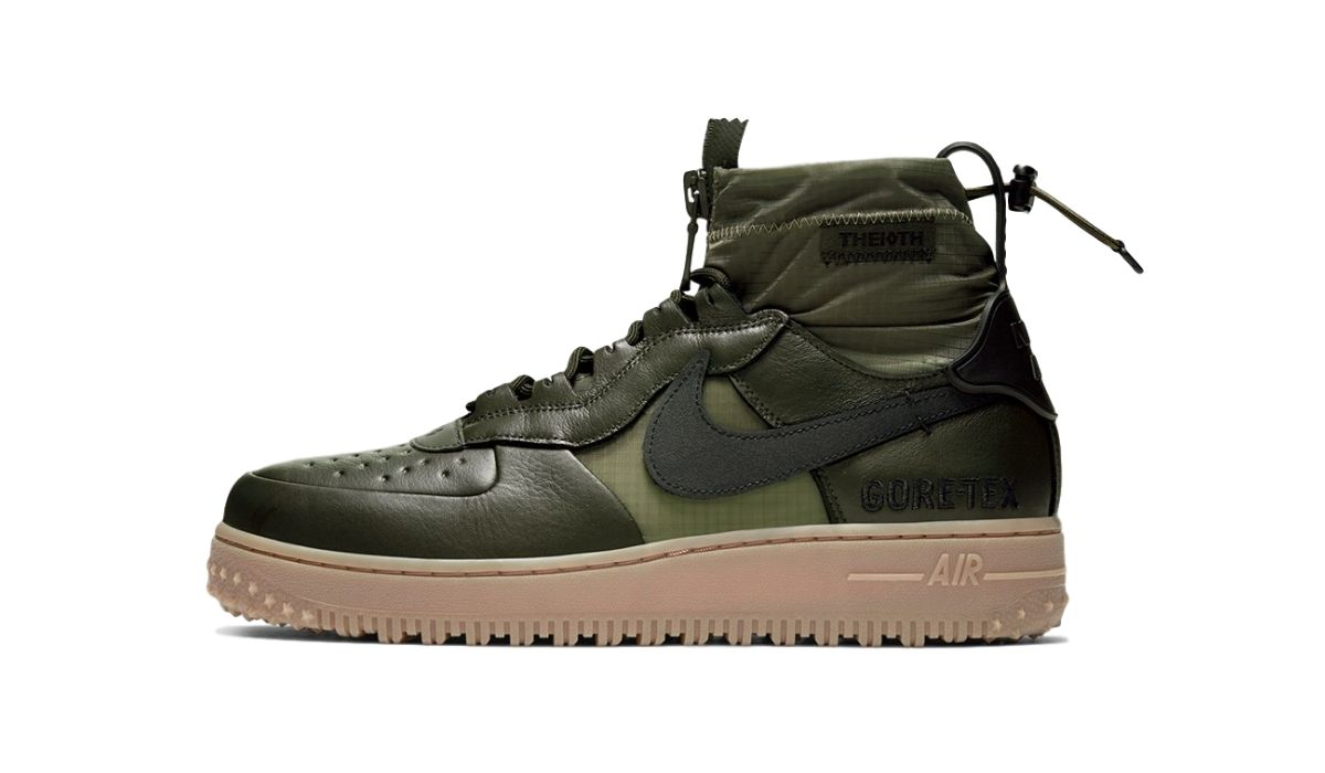 "Nike Air Force 1 WTR GORE-TEX ""Sequoia"""