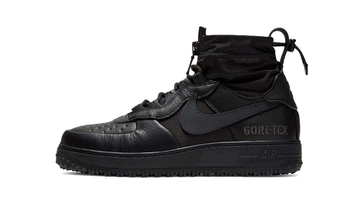 "Nike Air Force 1 WTR GORE-TEX ""Triple Black"""