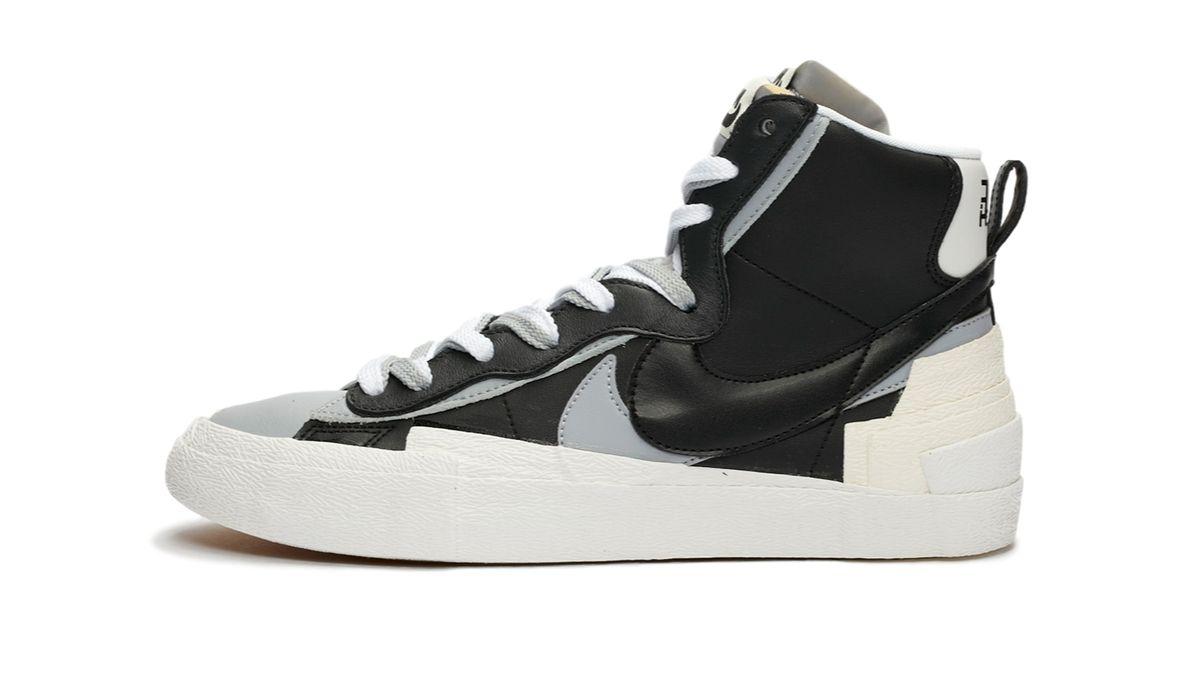 "Sacai x Nike Blazer Mid ""Black"""