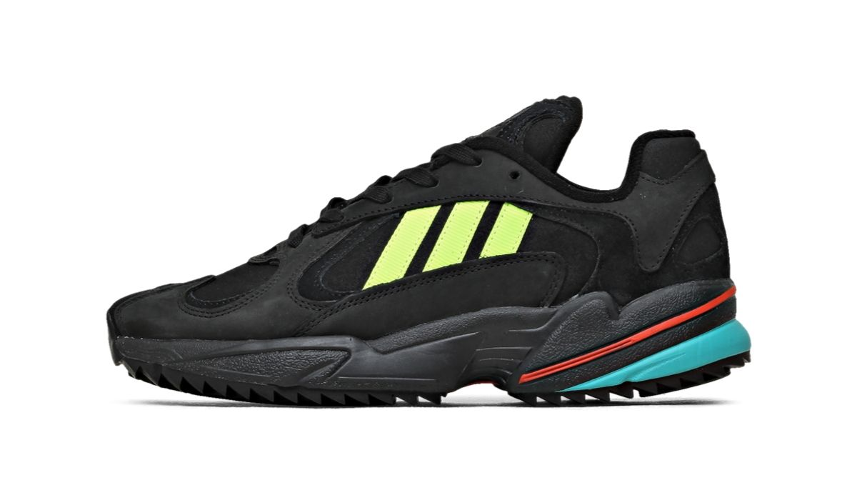 "adidas YUNG-1 Trail ""Black/Yellow"""