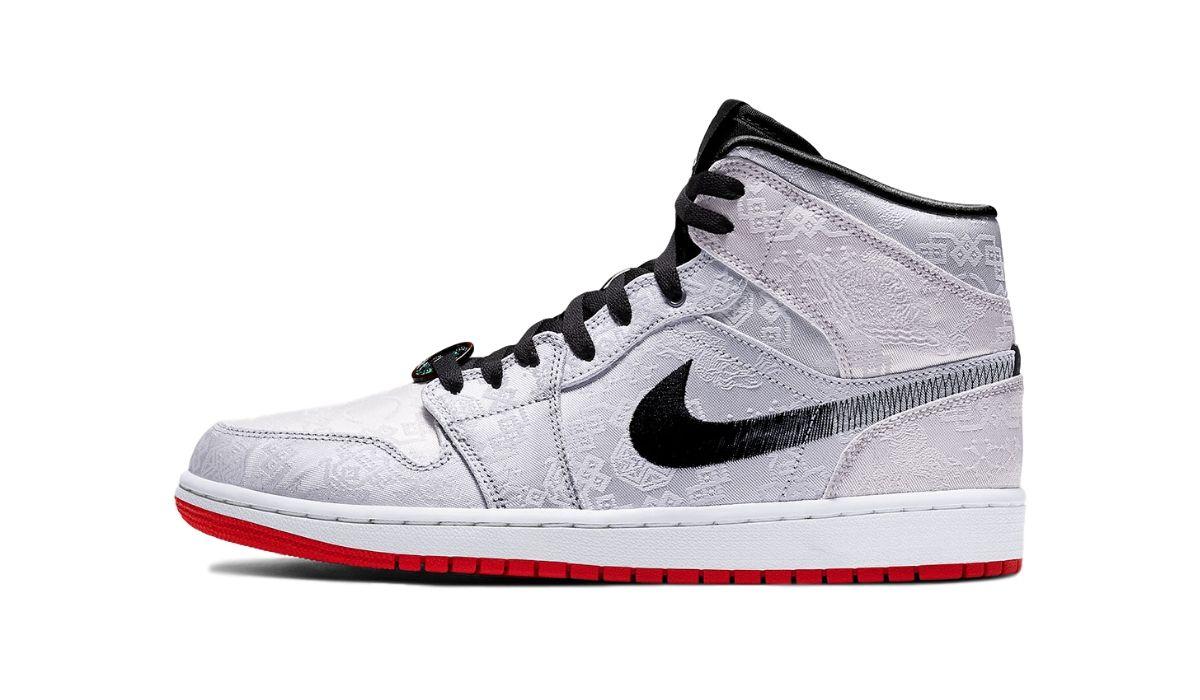 """CLOT x Nike Air Jordan 1 Mid """"Fearless"""""""
