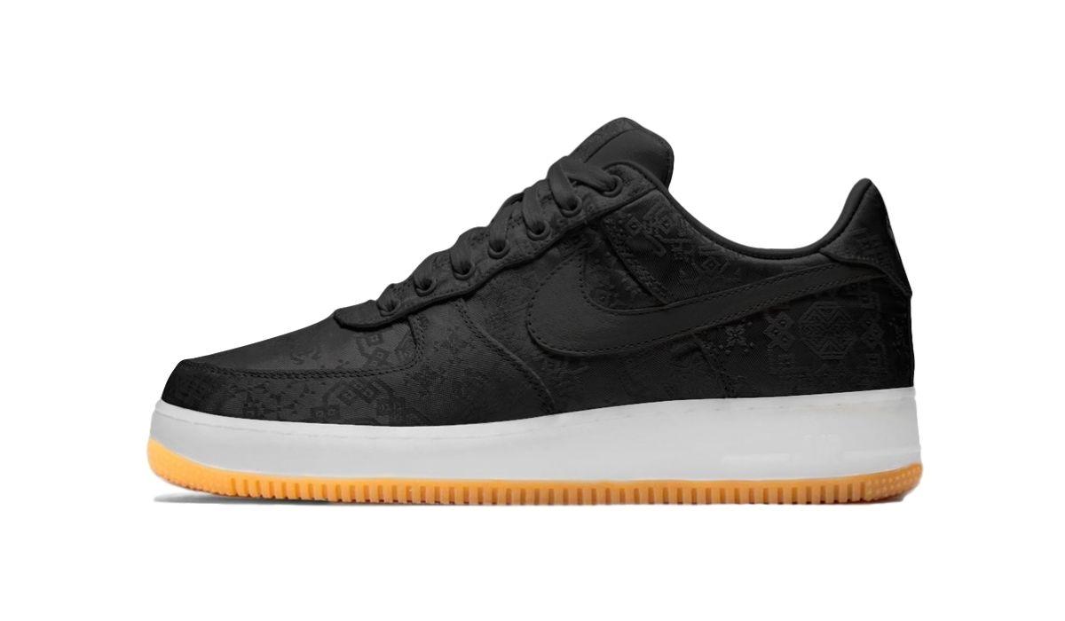 "Fragment x CLOT x Nike Air Force 1 Low ""Black"""