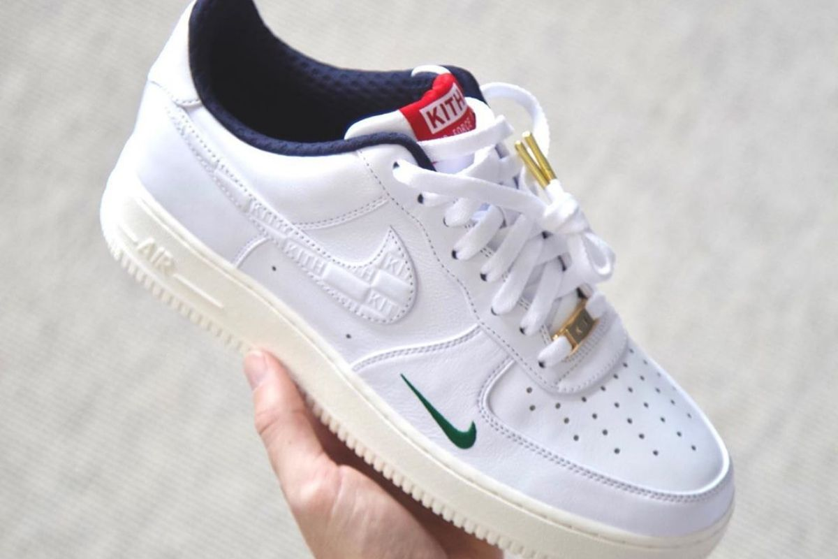 Kith Nike Air Force 1 sneakers release