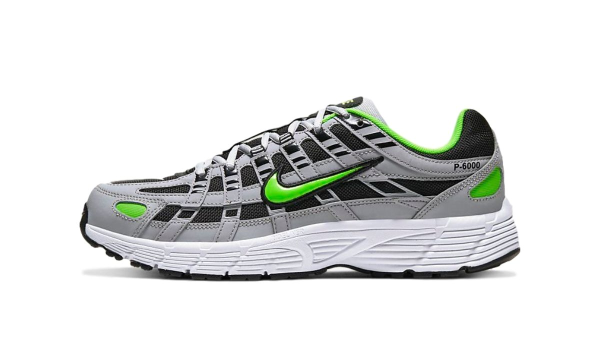 Køb Nike P 6000 Wolf Grey Electric Green her | CD6404 005