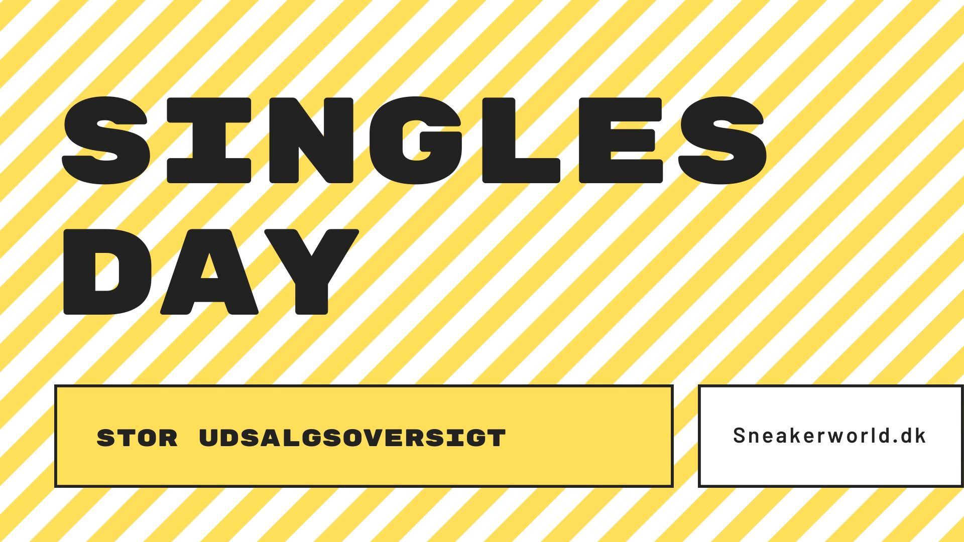 singles day udsalg i danmark